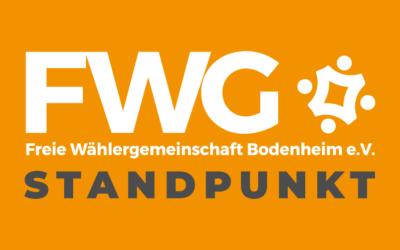 FWG Stellungnahme AZ Bericht vom 14.5.2019 SPD: Großanlage für Sportbetrieb war unrealistisch